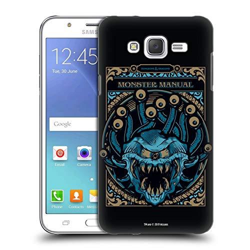 Head Case Designs Offizielle Dungeons & Dragons Monster Handbuch Hydro74 Kunstwerk Harte Rueckseiten Huelle kompatibel mit Samsung Galaxy J5 / J500