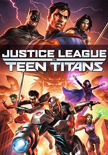 QIQIGUAI Puzzle Adulto 1000 Piezascarteles De Películas De La Liga De La Justicia Contra Los Jóvenes Titanes-Juguetes Educativos Divertidos Educativos Para Adultos, Juegos Familiares, Regalos Para