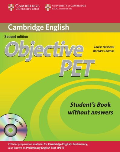 Objective PET 2nd Student's Book without Answers with CD-ROM
