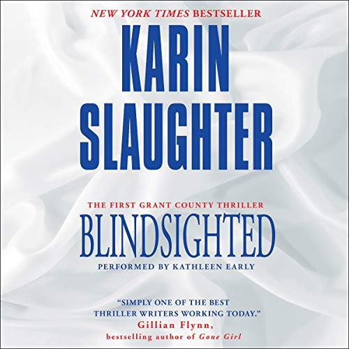 Blindsighted audiobook cover art