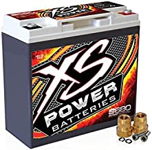 XS Power S680 12V AGM Battery 300 CCA