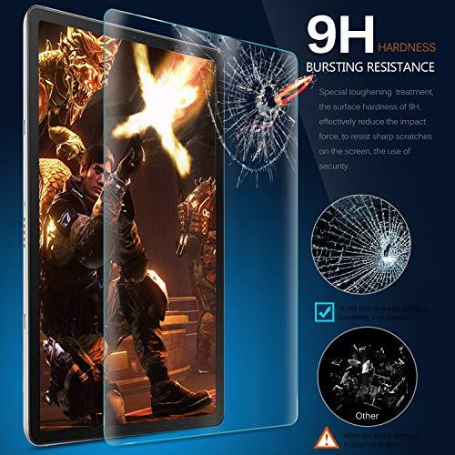 IVSO Displayschutz für Samsung Galaxy TAB S6 10.5 / TAB S5e 2019, 9H Härte, 2.5D, Displayfolie Schutzglas Displayschutz Für Samsung Galaxy Tab S6 SM-T860/T865 10.5 2019, (2 x)