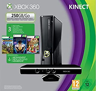 Console XBOX 360 250 Go + Kinect Fable the Journey + Wreckateer (B00B0EUGSQ) | Amazon price tracker / tracking, Amazon price history charts, Amazon price watches, Amazon price drop alerts