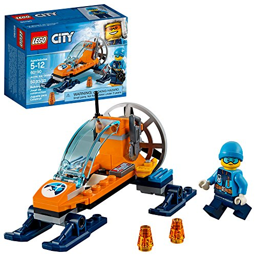 LEGO City Arctic Ice Glider 60190 Building Kit (50 Pieces)...