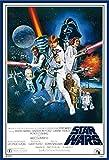 Star Wars - Orange Sword of Darth Vader - Filmposter Kino