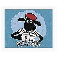 ひつじ 羊DIY 数字油絵 キャンバスの油絵 手塗り 57* 47 cm 絵画 大人の子供のためのギフト 数字キットでペイント インテリア アートフレーム ホームデコレーション