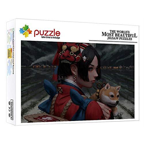 FFGHH Puzzles Puzzles 1000 Piezas Puzzles para Adultos 1000 Piezas Personaje De Anime Puzzle De Madera Piezas Amigo Niños Y Adultos 75Cm X 50Cm
