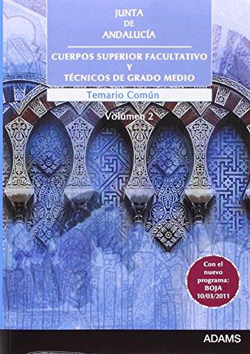 Parte de 9788499439006 (Cuerpo Superior Facultativo y Técnicos de Grado Medio, Junta de Andalucía. Temario)