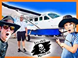 Flying To Remote Island To Explore Top Secret Island Raiders Hideout!
