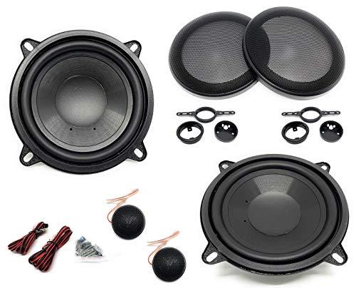 Sound-Way Kit Montaje Autoradio, Altavoces Coche 13 cm, Universales, Altavoz Coaxial 2 Vias, 100 Watts