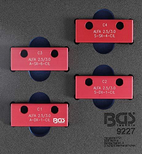 Preisvergleich Produktbild BGS 9227 / Werkstattwageneinlage 1 / 6: Nockenwellen-Arretierwerkzeug-Satz / für Alfa Romeo / Lancia 3, 0 l V6 24V