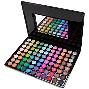 Accessotech 88 Color Paleta De Sombras De Ojo Kit Maquillaje Set Maquillaje Profesional Caja: Amazon.es: Belleza