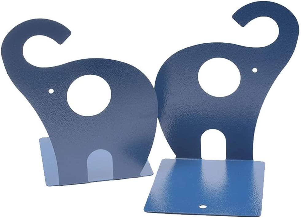 GCCBQM Bookend Cute Dedication Elephant Bookends Fixed price for sale 1 Art Nonskid Pair Book En
