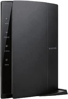 エレコム WiFi 無線LAN ルーター 親機 11ac/n/a/g/b 1733+800Mbps 有線Giga 接続推奨18台 Nintendo Switch対応 WRC-2533GHBK2-T