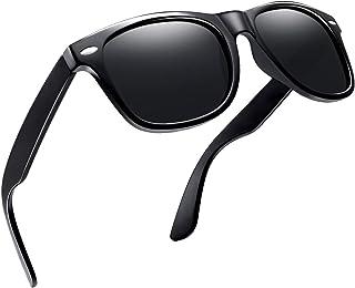 نظارة شمسية مستقطبة للرجال و للنساء من جوبين، نظارة شمسية مربعة كلاسيكية توفر حماية 100% من الاشعة فوق البنفسجية اثناء الق...