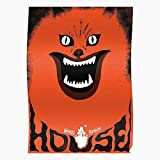Retro Movie Japan House Hausu 1970S Cult Film Horror I Retro - The Best and Newest Poster for Wall Art Home Decor Room I Customize