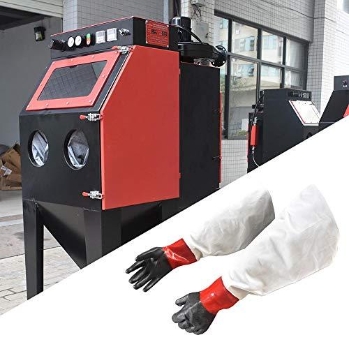 Bouder Sandstrahl-Handschuhe, atmungsaktiv, bequem, verschleißfest, Sandstrahl-Maschinen-Zubehör (20×30×2 cm)