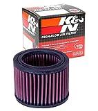 K&N Engine Air Filter: High Performance, Premium, Powersport Air Filter: Fits 1993-2006 BMW (R1150R, R1150R Rockster, R850R, R1150GS, R1150RS, R1150RT, R1100R, and other select models) BM-0400