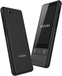 TAKUMI JAPAN KAZUNA eTalk 5+ グローバル通信SIM同梱版 自動翻訳機 72言語翻訳可能 Wi-Fiテザリング搭載 ブラック 【日本正規代理店品】 TKMT1809B1BK_2YSIM