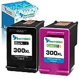 Inkwood Remanufactured 300XL Cartucho de Tinta 300 XL (Negro & Color) per HP PhotoSmart C4680 C4780 DeskJet F4580 F2480 F2400 F2420 F4280 F4500 D5560 Envy 100 F4500 C4780 120 D1658 D2530 D2566