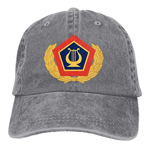 ZhangLinFu Sombrero Kreator The United States Army Field Band Unisex Adult Denim Hats Cowboy Hat Dad Hat Driver Cap