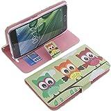 foto-kontor Tasche für Acer Liquid Z6 Plus Book Style