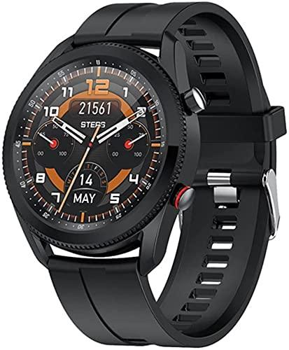 Smart Watch L61 Business Casual Uomini s Orologio Quadrante Girevole Per Interruttore Funzione Interfaccia Rotonda Uomini s Orologio per Android Ios-VS
