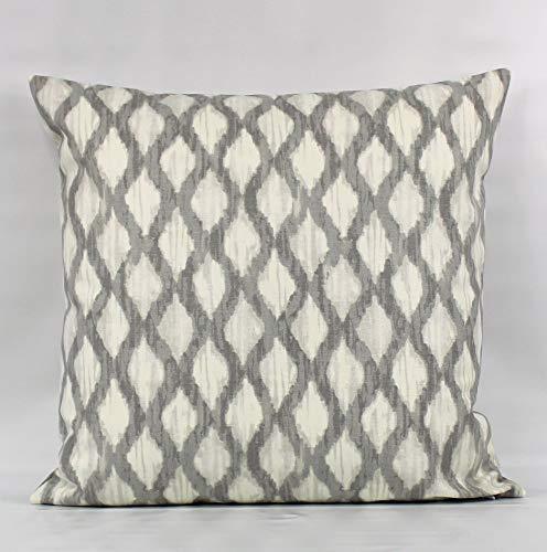 MUSTYDF Funda de almohada gris entramado gris almohada gris almohada gris geométrico gris gris marfil almohada gris funda de cojín gris manta almohada almohada almohada almohada manta almohada cremallera