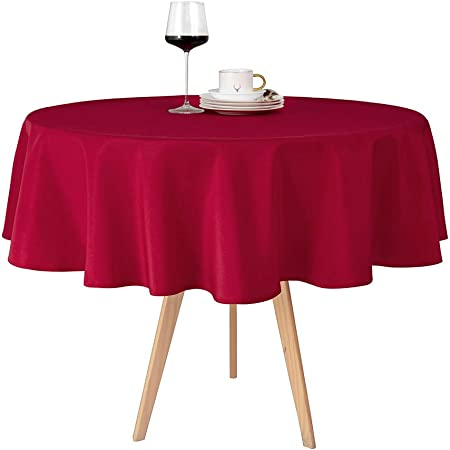 Special @ Pretty Deep Wine Red Table Cloth L New