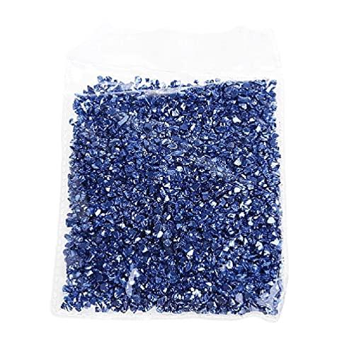 50G cristales decorativos piedras rotas a granel rellenos de resina para bricolaje resina epoxi UV resina molde de joyería rellenos arte artesanía fabricación herramientas