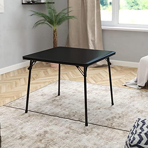 Flash Furniture Black Folding Card Table
