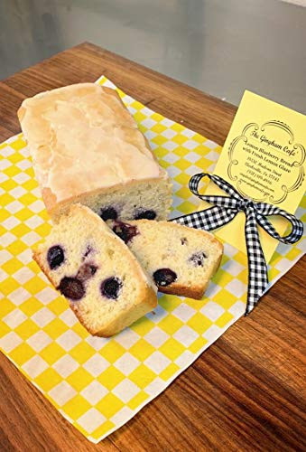Homemade Lemon Blueberry Bread 2 Loaves 1LB each