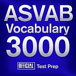 Official ASVAB Vocabulary 3000 audiobook cover art