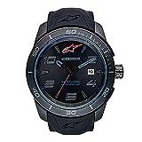 Alpinestars Reloj Análogo clásico para Unisex-Adulto. de Cuarzo con Correa en Silicona 1037-96010