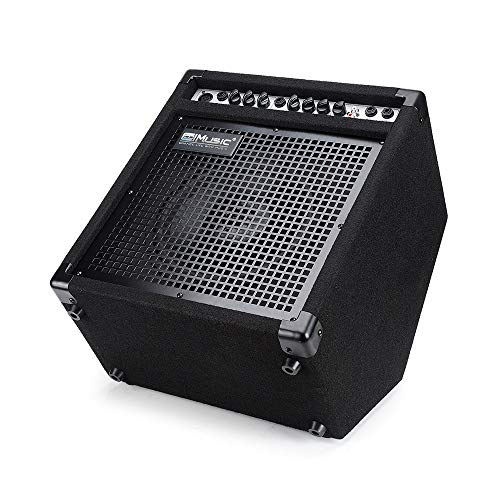 COOLMUSIC DK-35 35watts Personal Monitor Amplifier Electric Drum Amplifier PA Workstation Keyboard Speaker and Acoustic Guitar Amplifier