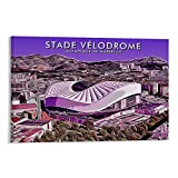 DAJIANG Stade Velodrome Poster, dekoratives Gemälde,