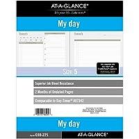 AT-A-GLANCE 日替わりプランナー 2か月 7リング 8-1/2インチ x 11インチ フォリオサイズ 5 (038-225)