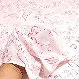 TOLKO 50cm Baumwoll-Jersey für Shirt Kleid Rock | Weich