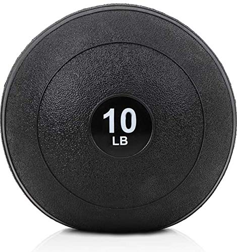 Outroad Slam Ball Textured Surface Fitness Gym Equipmentfor Strength and Conditioning Exercises , Cross Training, Cardio and Core Workouts (10lbs)