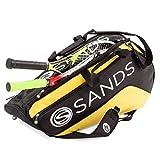 Sands Tennis Tasche Schlägertasche sporttasche für bis zu 6 Schläger