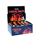 CHAMP - Charbon à Chicha/Narguilé/Hookah 33mm - 10 Rouleaux - Noir - Charbon - Noir