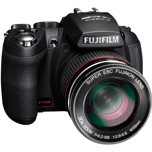 Fujifilm HS20EXR Digitalkamera Compact 16Megapixel, Zoom 30x Schwarz