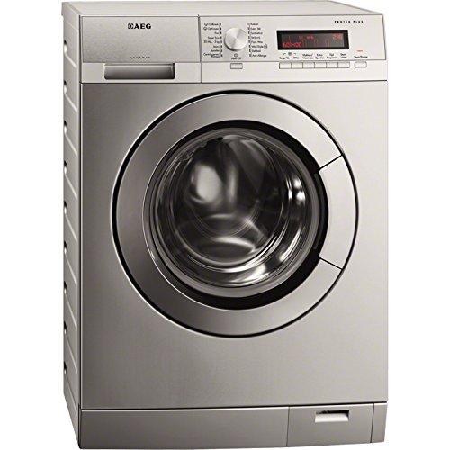 AEG L87495XFL Libera installazione Carica frontale 9kg 1400Giri/min A+++ Acciaio inossidabile lavatrice