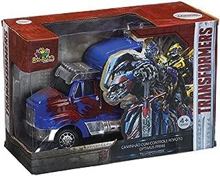 Caminhão Controle Optimus Prime 7 Funções Art Brink