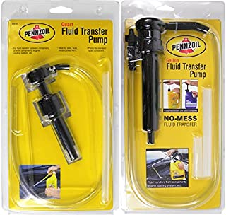 Bundle Set of Pennzoil Quart & Gallon Fluid Transfer Pumps Car Truck Motorcycle Boat RV
