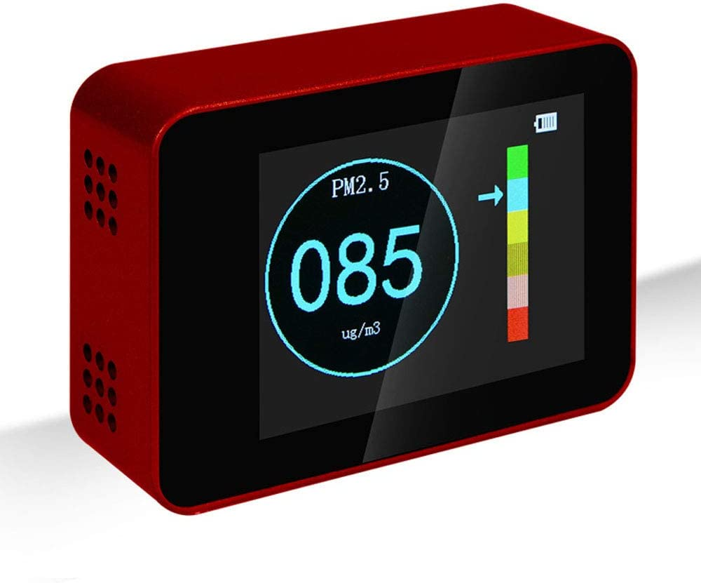 QWERTOUY Portable Co2 ppm Meters Popular Carbon Detector air Dioxide Max 48% OFF