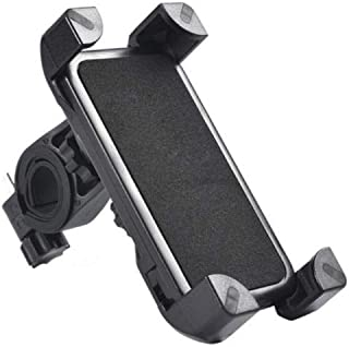 Bike Mobile Phone Holder with Ring - Black
