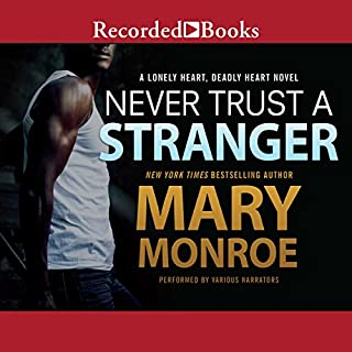 Never Trust a Stranger                   Written by:                                                                                                                                 Mary Monroe                               Narrated by:                                                                                                                                 Sean Crisden,                                                                                        Lisa Reneé Pitts,                                                                                        Robin Eller                      Length: 10 hrs and 18 mins     Not rated yet     Overall 0.0