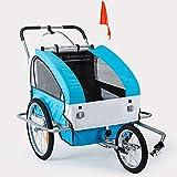 leenBonnie 2 in 1 Convertibile per Bambini Jogger Passeggino rimorchio Bici Confortevole S...