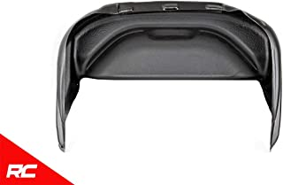 Rough Country Rear Wheel Well Liners (fits) 2017-2019 Super Duty F250 F350 Protection 4517